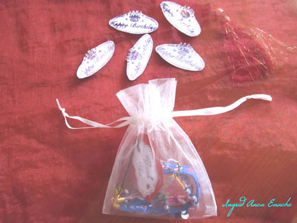 Our Gift : an Organza Bag